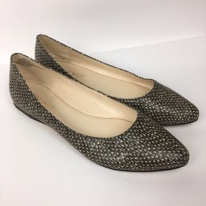 NINE WEST Sz 5M Synthetic Pointed Toe